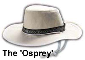 The Osprey Wide Brim Canvas Hat